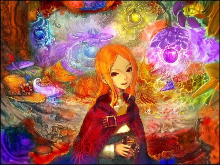 Fonds d'écran Fantasy et Science Fiction Paysages Fantasy Believe in Wonderland