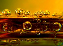 Fonds d'écran Objets bulles d'or