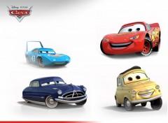 Wallpapers Cartoons quatuor cars
