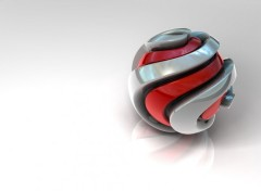 Wallpapers Digital Art Spiral Ball