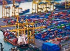 Fonds d'écran Bateaux Cargo et containers