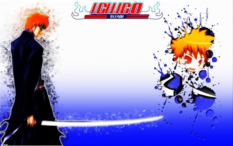 Fonds d'écran Manga Bleach Ichigo bleach Splatter smudge