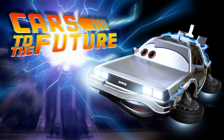 Wallpapers Cartoons Cars 1 and 2 Cars to the Future