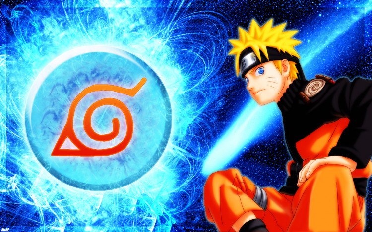 Wallpapers Manga Naruto Naruto blue solar