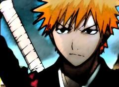 Fonds d'�cran Manga Bleach - Kurosaki Ichigo