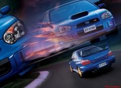 Wallpapers Cars Subaru impreza wrs sti