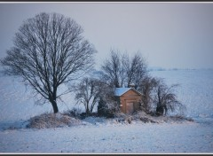 Wallpapers Nature Chapelle dans la neige