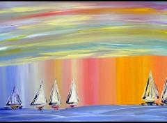 Wallpapers Art - Painting A Voile dans les Reves