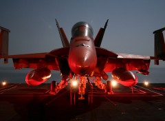 Wallpapers Planes F-18 Sur Porte Avion