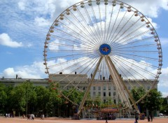Wallpapers Constructions and architecture Grande roue