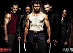 Wallpapers Movies X-Men Origins Wolverine, Gambit, deadpool, dents de sabre quand Hugh Jackman revient le 29 Avril 2009