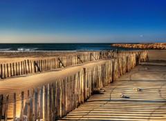 Fonds d'écran Nature Ombres et lumière sur le sable