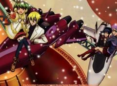 Fonds d'écran Manga snow