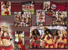Wallpapers Sports - Leisures The Cheerleaders Tampa Bay Buccaneers