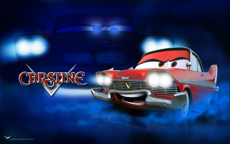 Wallpapers Cartoons Cars 1 and 2 Carstine