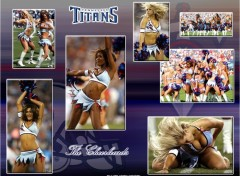 Wallpapers Sports - Leisures Cheerleaders Titans