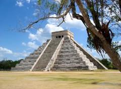 Wallpapers Trips : North America Pyramide de Chichen itza - Péninsule du Yucatan