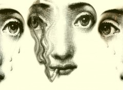 Wallpapers Art - Painting Fornasetti 1