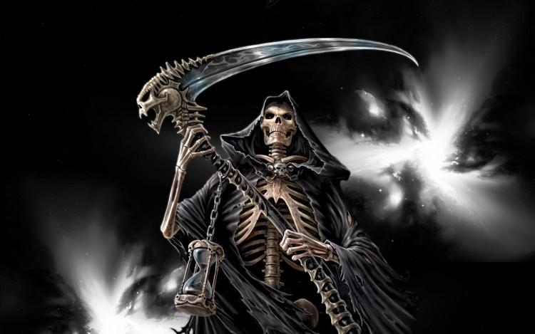 Fonds d 39 cran fantasy et science fiction fonds d 39 cran - Cuisiner trompette de la mort ...