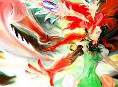 Wallpapers Digital Art Color Girl