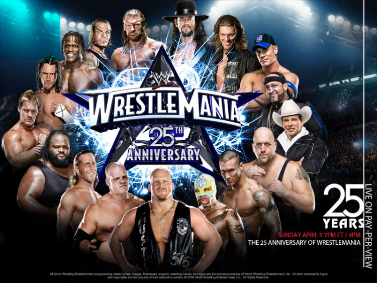 wrestlemania 25 wallpaper. Leisures wrestlemania 25
