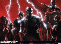 Fonds d'écran Comics et BDs avengers invasion secrete