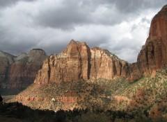 Fonds d'écran Voyages : Amérique du nord parc zyon