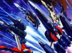 Fonds d'écran Manga Macross Frontier Fighters