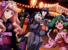 Fonds d'écran Manga Macross Frontier Festival