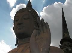 Fonds d'écran Voyages : Asie Statue de Bouddha (Parc archeologique de Sukothaï - Thaïlande)