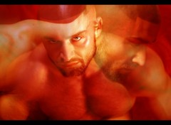 Wallpapers People - Events Fran�ois Sagat rouge
