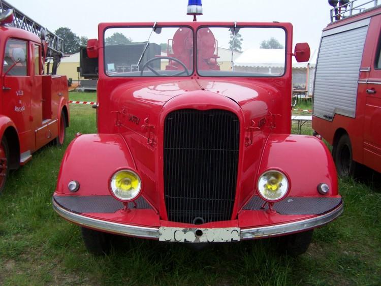 Fonds d'écran Hommes - Evênements Pompiers - Incendies Camion de pompier Lafly
