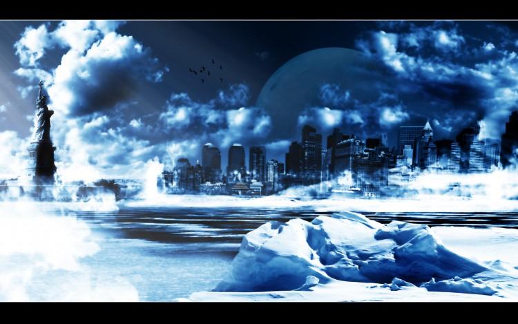 Fonds d'écran Art - Numérique Style Urbain Cold NY