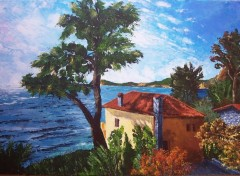 Fonds d'écran Art - Peinture marine