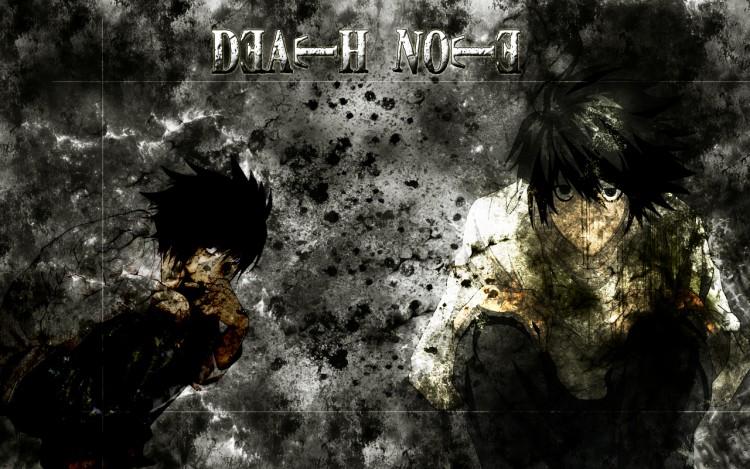 Fonds d'écran Manga Death Note Dark L