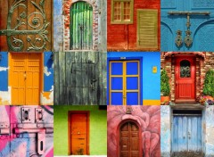 Wallpapers Constructions and architecture Portes du monde