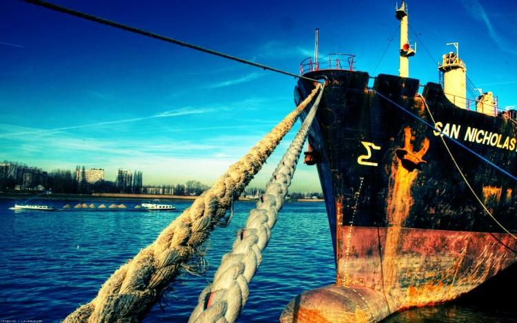 Fonds d'écran Bateaux Marine Marchande Amarrage