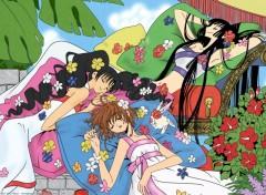 Fonds d'écran Manga yuuko sakura et himawari