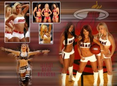 Fonds d'écran Sports - Loisirs Miami Heat Dancers