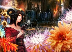 Wallpapers Fantasy and Science Fiction Flower dream