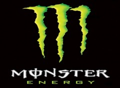 Wallpapers Brands - Advertising monster energy logo