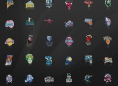 Fonds d'écran Sports - Loisirs team NBA logos