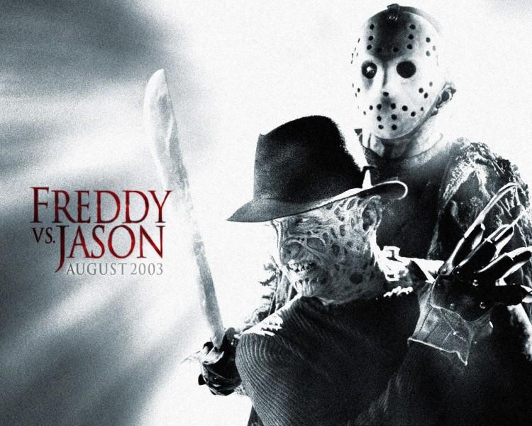 Fonds d'écran Cinéma Freddy contre Jason freddy vs jason