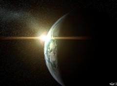Fonds d'écran Espace Terre