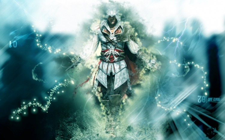 Fonds d'écran Jeux Vidéo Assassin's Creed Aura Altair