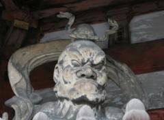 Fonds d'écran Voyages : Asie Gardien du temple
