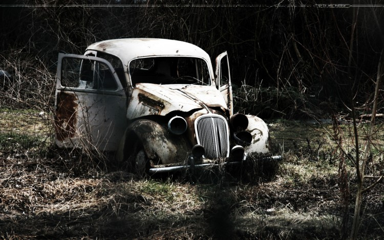 Wallpapers Cars Wrecks Epave automobile