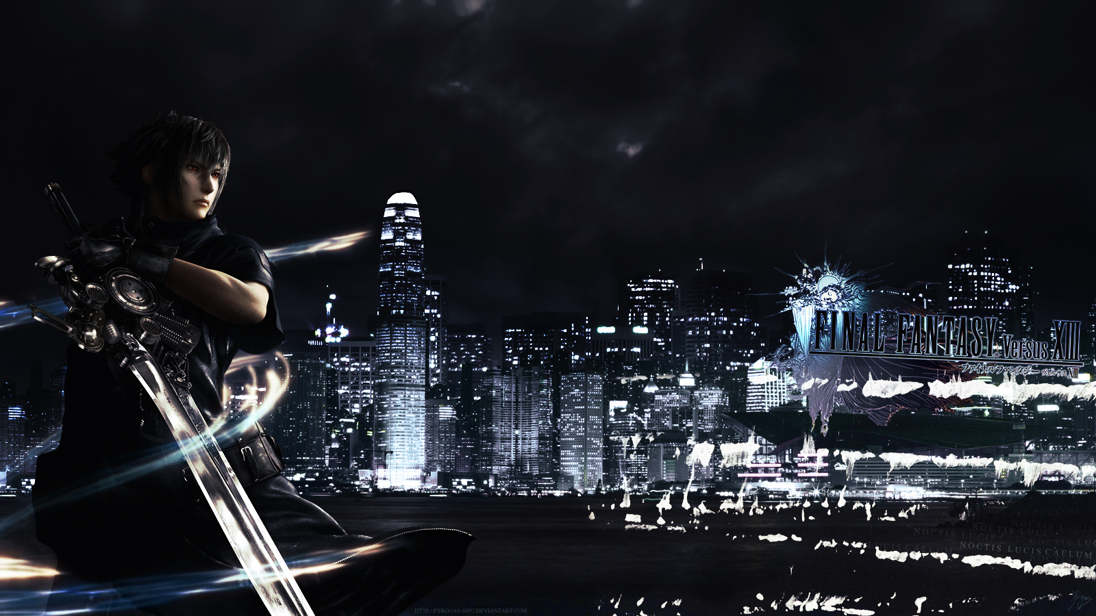 Wallpapers Video Games Final Fantasy - Miscellaneous Final Fantasy versus XIII