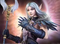 Fonds d'écran Fantasy et Science Fiction Elfe guerrière