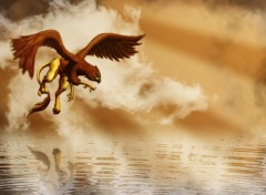 Wallpapers Digital Art Griffon